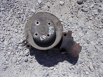 International Farmall 656 Hydro Tractor Engine Motor Water Pump Assembly Pulley