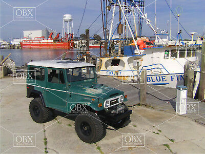 8x10 photo:A 1974 original condition FJ40 Toyota Landcruiser, OBX--Wanchese NC!