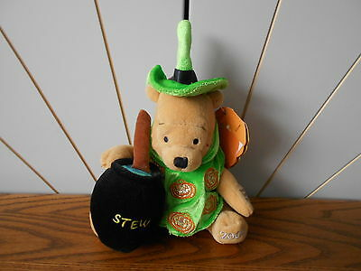 LIGHT UP HALLOWEEN WITCH beanie soft toy WINNIE THE POOH Disney Store 2002](Disney Halloween Witch Movies)