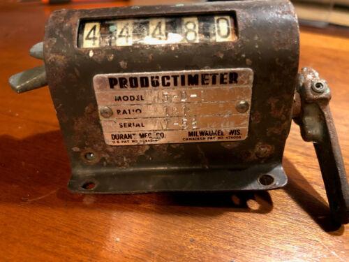 VINTAGE DURANT 5-D-1 PRODUCTIMETER