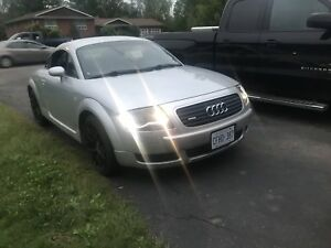 2000 Audi TT 1.8L Turbo All-Wheel Quattro
