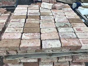 Canberra Red Bricks $1 each Symonston South Canberra Preview