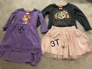 Paw patrol toddler girl clothing 2T/3T