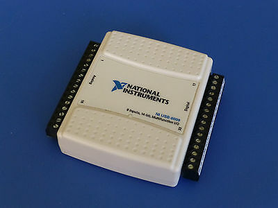 National Instruments Usb-6009 Data Acquisition Card Ni Daq Multifunction