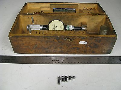 Standard 2 Dial Bore Gage Set In Case - 1 18- 1 316 .0001 - Fh37