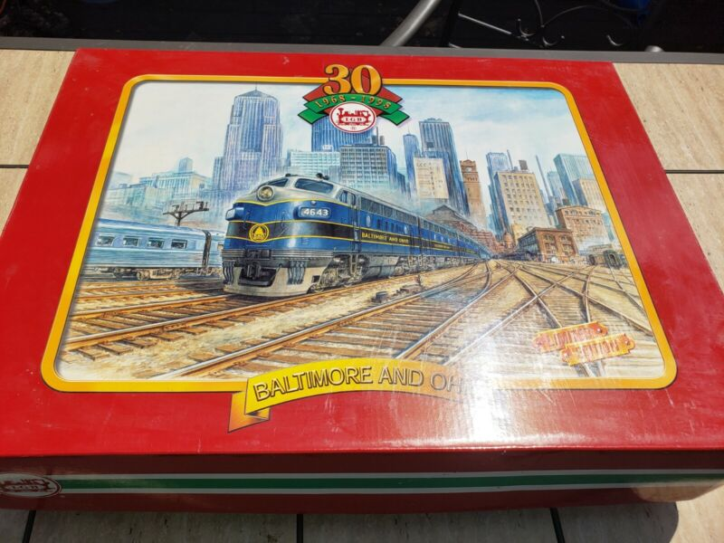 LGB #70457 BALTIMORE & OHIO 30 YEAR LIMITED EDITION SET (1998) RARE incomplete