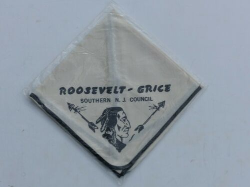 Roosevelt-Grice Southern N.J. Council Boy Scout BSA Tan with Black Neckerchief