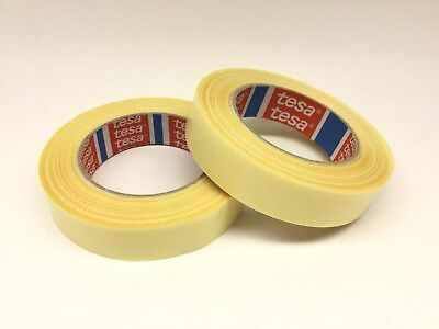 2 Pack - 4934 Tesa Tape 25mm Double Sided Tape Fabric Backing X2