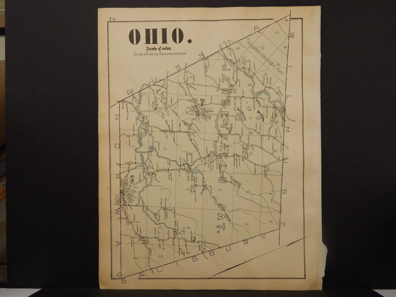New York, Herkimer County Map, 1906 Town of Ohio R1#20