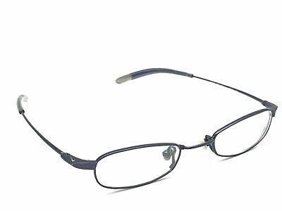 446b9dcd9acd アメリカ NIKE Flexon 4608 424 Blue Rectangular Metal Rx Eyeglasses Frames 42-19  130
