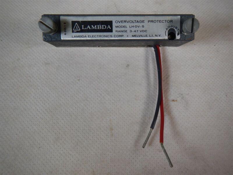New LAMBDA Overvoltage Protector LHOV-5 NOS Open Box Q1
