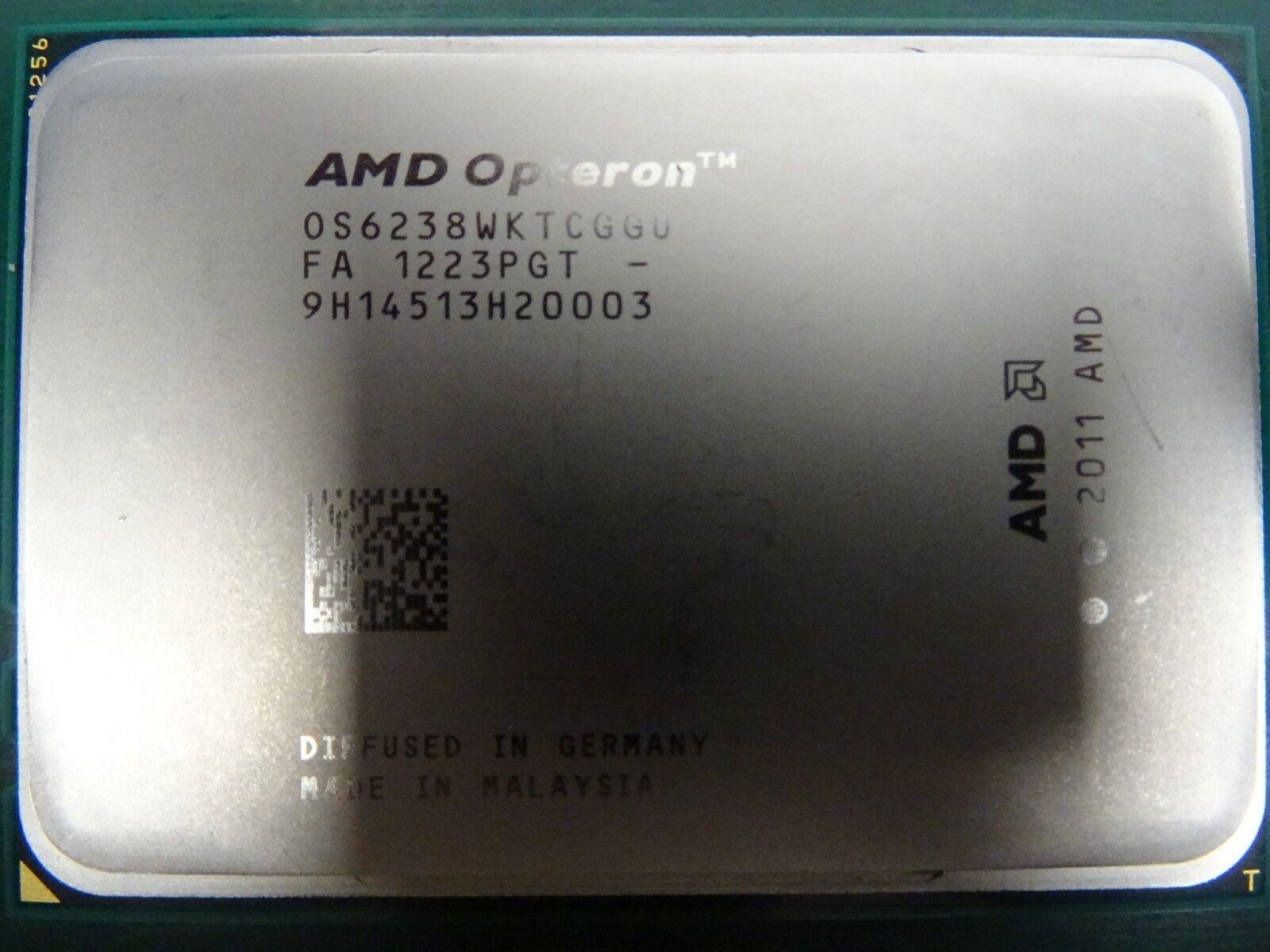 AMD Opteron 6238 2.6GHz 12 Core OS6238WKTCGGU Processor