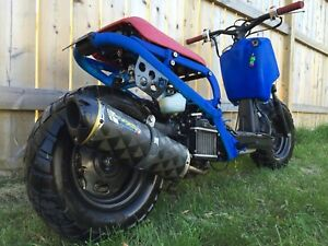 2012 Honda Ruckus - fun modified scooter