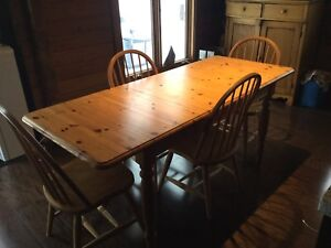 Need Gone Pine Kitchen Table Set