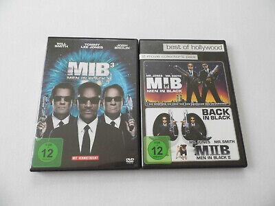DVDs MIB Men in Black Teile 1 2 3 sehr gute Erhaltung I II III