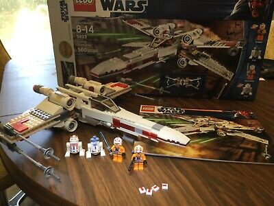 Lego Star Wars X-Wing 9493 100% complete with Minifigs, box, instr 100% complete
