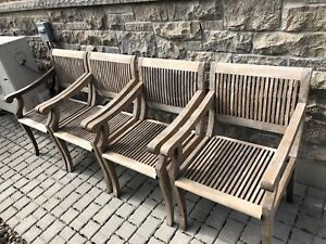 Genuine Teak Wood Patio Set