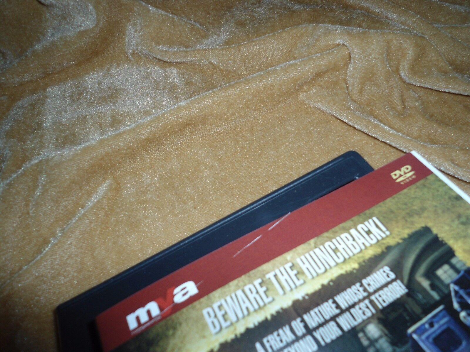 Hunchback Of The Morgue 1973 1 Disc DVD MYA COMMUNICATION STUDIO - $69.99