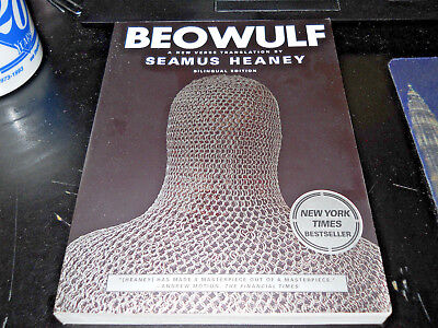 Heaney, Seamus BEOWULF 2000 A New Verse Translation 1st Bilingual Edition
