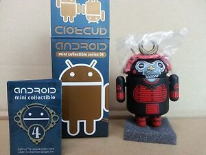 Google-DUNNY-Android-Mini-Collectible-Series-4-samurai-Chaser-by-Andrew-Bell