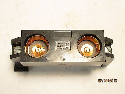 Federal Pacific FPE 301P 30a fuse holder