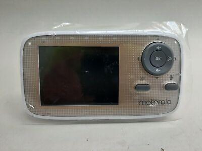 "Motorola MBP483A 2.8"" Video Baby Monitor White No Battery- No PSU"