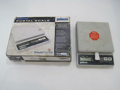 Xx Pelouze Electronic Postal Scale Pe10 .20oz5g Increments 10lb Capacity