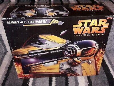 Star Wars Revenge of the Sith Anakin Skywalker Jedi Starfighter boxed