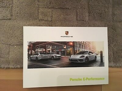 PORSCHE E-PERFORMANCE   BROCHURE     2017      GERMAN MARKET