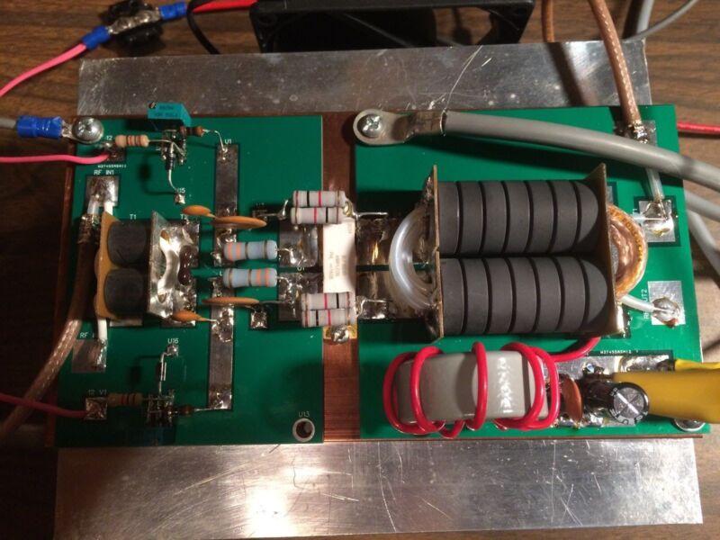 LDMOS RF HF Amplifier 1500 Watt PEP (1.8-54 MHz) with BLF188XR