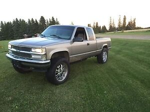 Lifted 1998 chevy