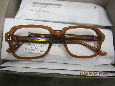 Military Issue BCG Birth Control Glasses Frames USGI S9 NOS 52x20 145mm (Specialty Glasses)
