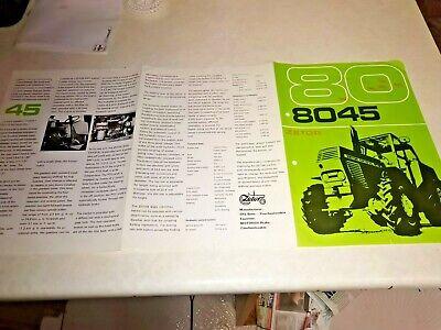 zetor 8045 tractor sale brochure 6 page na sprzedaż  Wysyłka do Poland