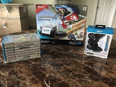 Wii U Console And Games Lot