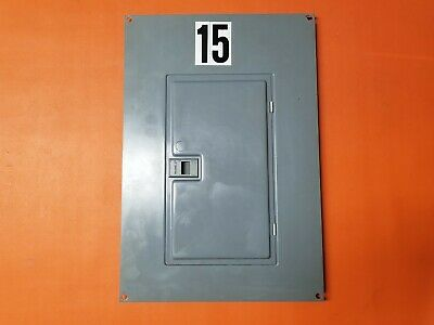 Square D Panel Cover 24 Space Qo Load Center Qoc24us
