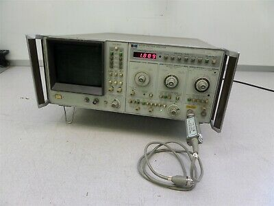 Hp 8569b Microwave Spectrum Analyzer 0.01-115 Ghz W 11664a Detector As Is