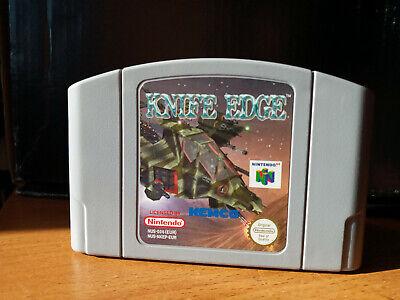 Knife Edge N64 Nintendo 64 Loose Cartridge Cart Game Gaming PAL
