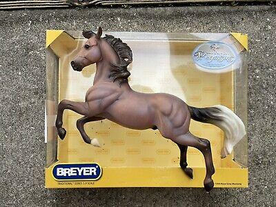 Retired Breyer Horse #1303 Rose Grey Treasure Hunt Pegasus Silver Dark Version!