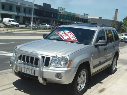 2007 Jeep Grand Cherokee WH Laredo Wagon 5dr Auto 5sp 4x4 3.0DT