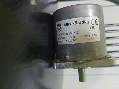 Allen Bradley 845h-sjdz24-cky2-c Incremental Optical Encoder