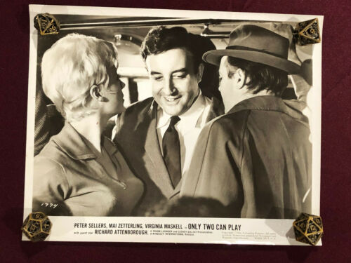 ONLY TWO CAN PLAY ORIGINAL MOVIE PHOTO STILL 1962 PETER SELLERS  PINK PANTHER 4