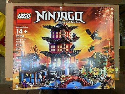 LEGO Ninjago TEMPLE OF AIRJITZU 70751 Brand new Factory Sealed