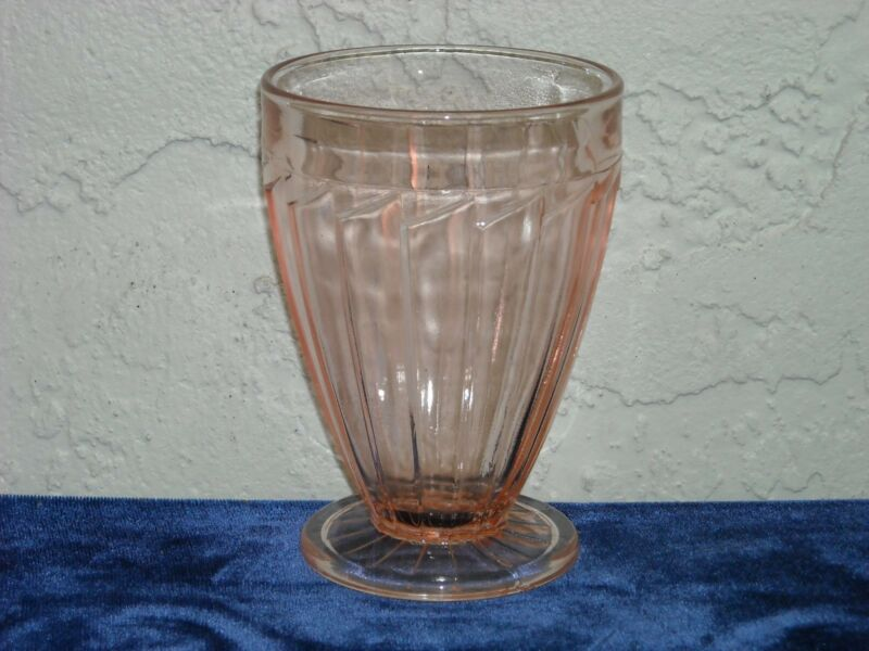 Sierra Footed Tumbler  Pink