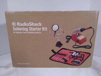 Radioshack 48w Soldering Starter Kit - New In Open Box