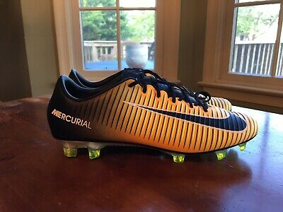 1c25fc7b7 Nike Mercurial Vapor XI Soccer Cleats Men s Size 7.5 Yellow Black