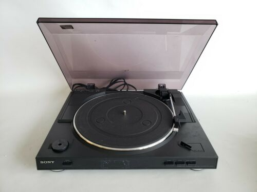 * Sony PS-LX250H Automatic Stereo Turntable System Record Player