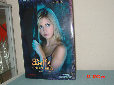 "Buffy The Vampire Slayer- BUFFY Figur 12"" Sideshow 20th Anniversary Figur, neu !"
