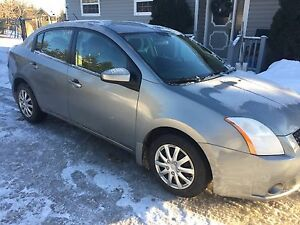 2008 Nissan Sentra with inspection