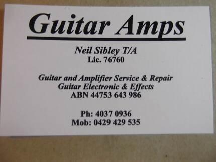Guitar Amps, Cairns: Service, Repair & Restoration Machans Beach Cairns City Preview