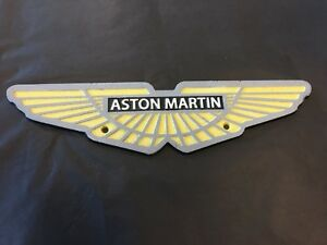 Aston Martin cast iron Sign